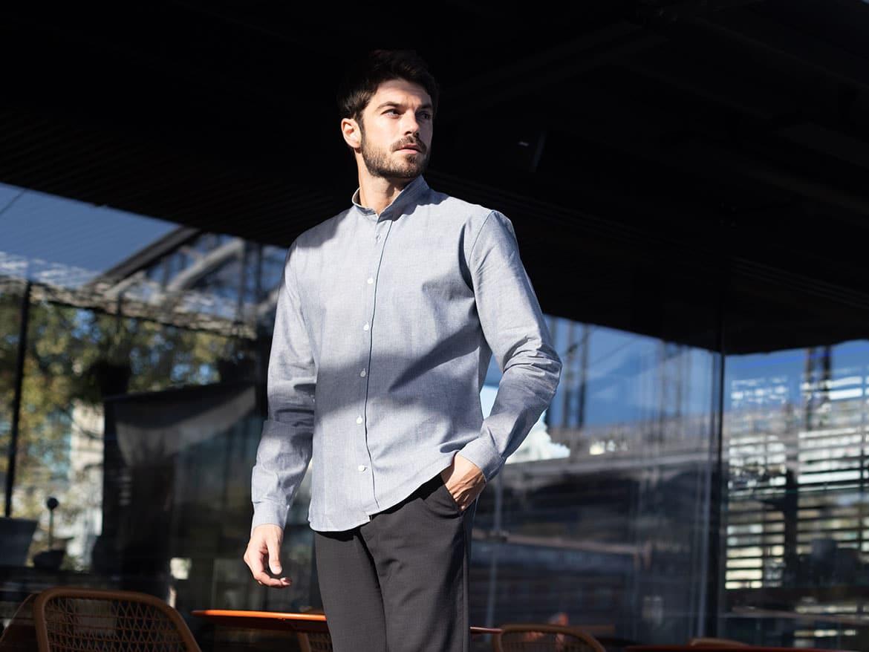 chemise tissu japonais selvedge
