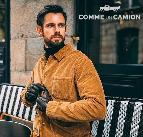 gants cuir Comme Un Camion