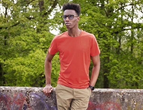 Tshirt orange Terracota