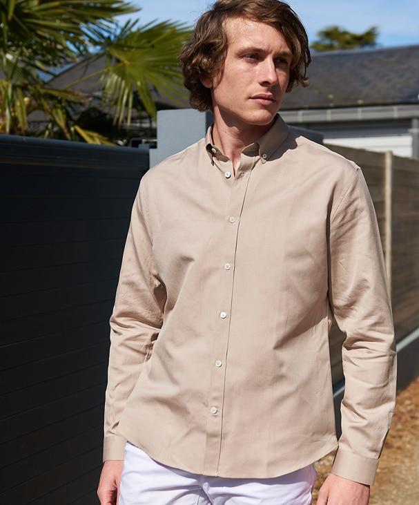 chemise d'été homme